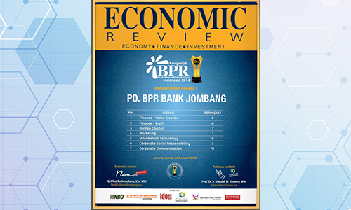 bank-jombang-raih-penghargaan-dari-economic-review-tahun-2015